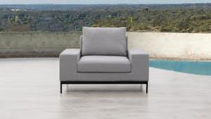 June Outdoor Fabric Armchair