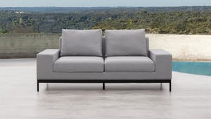 June Outdoor Fabric Two Seater Sofa