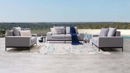 June Outdoor Sofa Suite 2+1+1