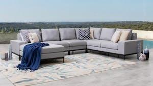 June Outdoor Fabric Modular Lounge