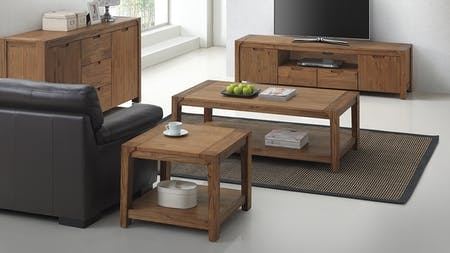 American Rustic 3-piece Lounge Room Package