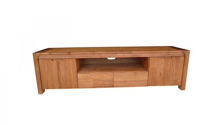 American Rustic Tv Entertainment Unit