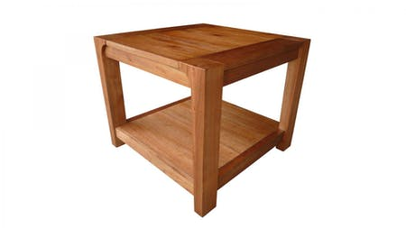 American Rustic Lamp Table