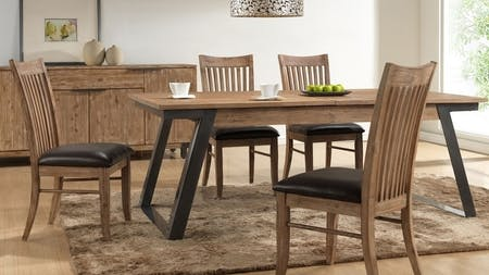 Industrial 7-piece Dining Suite