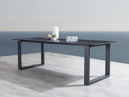 Element Black 8 Outdoor Dining Table