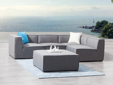 Toft Five Ways Outdoor Fabric Lounge System