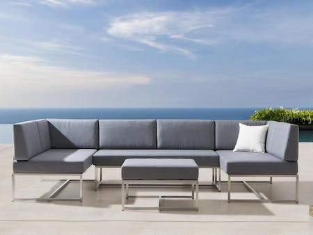 Element Seven Ways Outdoor Stainless Steel Lounge System