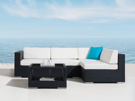 Moda Five Ways Outdoor Wicker Lounge System