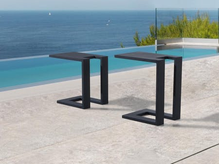 Noosa Outdoor Aluminium Side Table