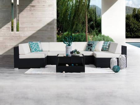 Moda Seven Ways Wicker Outdoor Lounge System