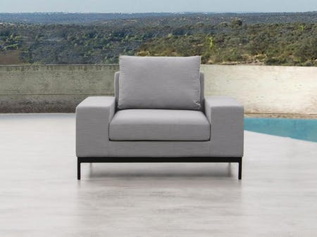 June Outdoor Fabric Armchair