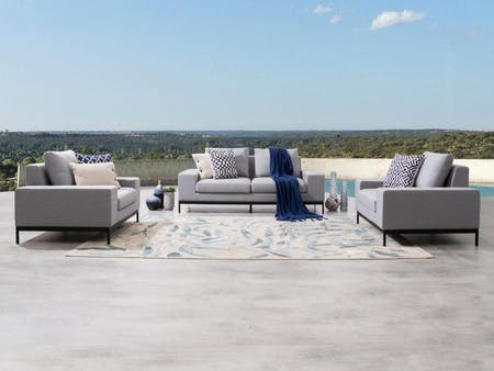 June Outdoor Sofa Suite 2+1+1