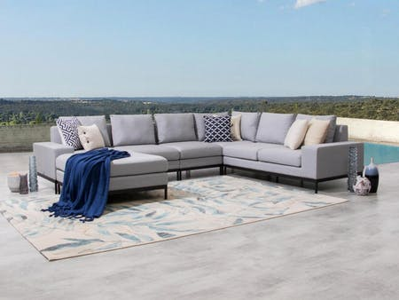 June Outdoor Fabric Modular Lounge
